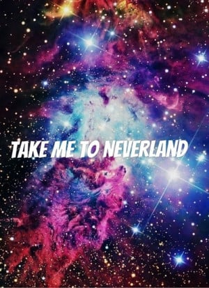 ... tags for this image include: to, infinite, me, neverland and O.o