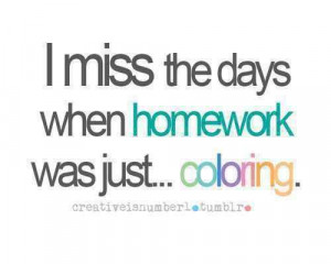 True enough! I hate school.
