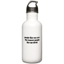 The Reason People Like Me Drink Water Bottle for