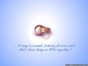... And That's Here How Long We'll Be Together - Romantic Quote