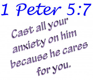 Proverbs 12:25 Anxiety in a man's heart weighs him down, but a good ...