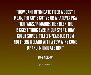 Rory McIlroy Quotes