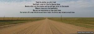 ... anthem lyrics source http imgarcade com 1 country dirt road quotes