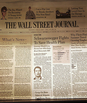 Wall Street Journal Famous Quotes