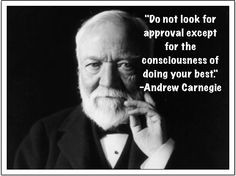 Andrew Carnegie quote on doing your best...