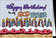 Happy birthday to my godfather card - Product #382392
