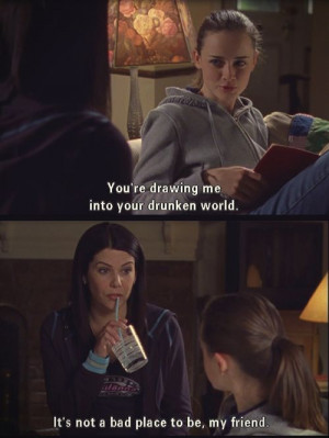 Alexis Bledel Is Drawn Into Lauren Graham's Drunken World On Gilmore ...