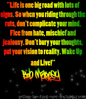Favorite Bob Marley quote?
