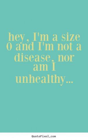 Skinny/slim girl positive quote