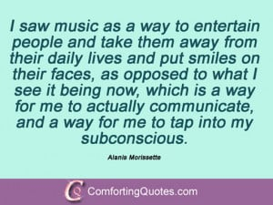 Anything I do has to be directly related to my music. If it isn't, I ...