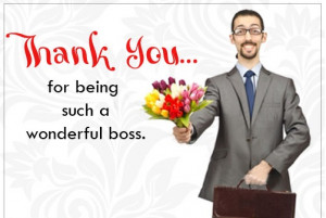 Funny Thank You Quotes For Boss