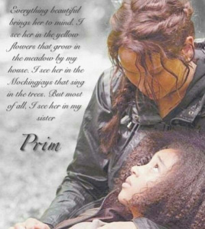 Katniss Quote about Rue