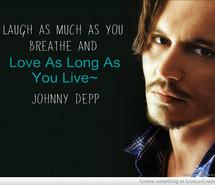 johnny depp quote on love
