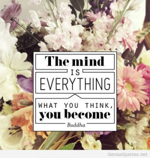 The mind Buddha quote
