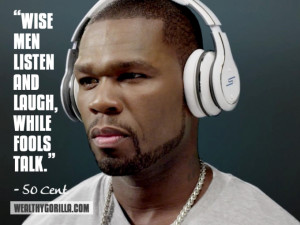 50 Cent Inspirational Quote