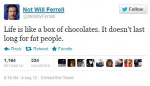 will ferrell escalated will ferrell quotes twitter will ferrell quotes ...