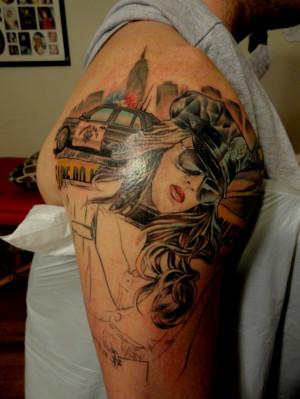 Police Officer Tattoos Ideas Police officer tattoo. work in progress ...