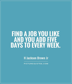 Finding a Job Quote
