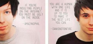 AmazingPhil and Danisnotonfire thanks for inspiration
