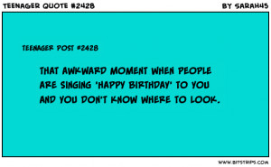 Teenager Post Birthday Teenager post #2428 that