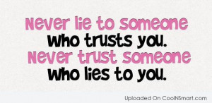 trust relationship quotes sayings pictures pics quotes trust quotes ...