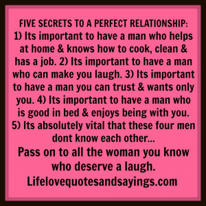 Perfect Man quote #1