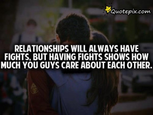 relationship fighting quotes and sayings