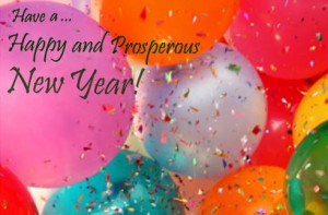 Happy and prosperous new year wishes quotes
