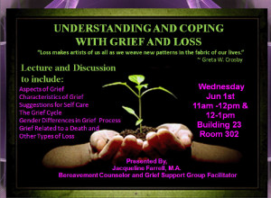 Understanding and Coping with Grief and Loss