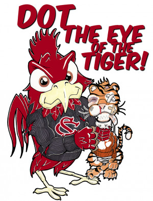 Dot the Eye of the Tiger SMALL