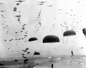 Airborne Mission During Ww2 Photograph