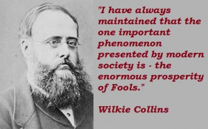 Wilkie collins famous quotes 3