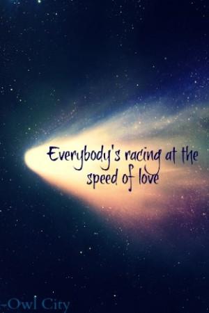 Owl City Quotes Love. QuotesGram