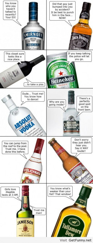 Alcohol types - Funny Pictures, Funny Quotes, Funny Memes, Funny Pics ...