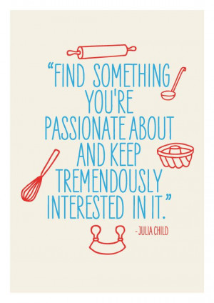 art for kitchen vintage print poster inspirational retro quote julia ...