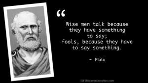 Plato quote...
