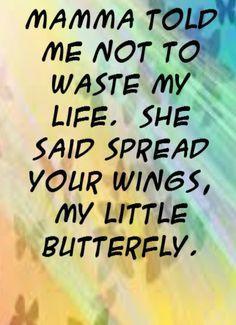 Fly, baby girl. ♡