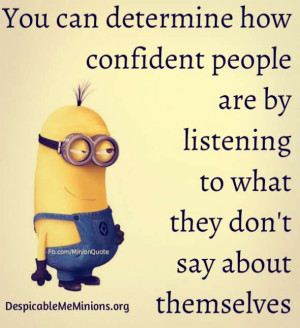 how confident people are you can determine how confident people are by ...