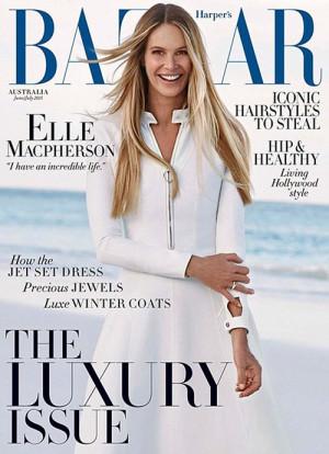 says Elle in Harper's Bazaar.