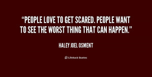 Get Scared Quotes