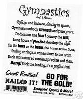 Gymnastics-Poem-Scrappin-Sports-Stickers-Scrapbooking