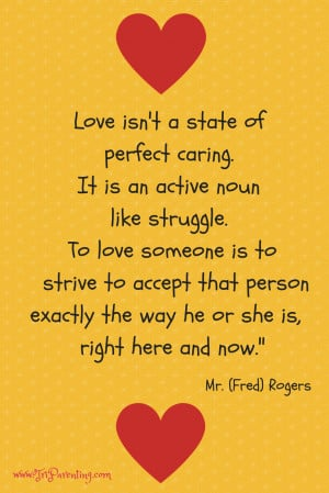 Mr Rogers Children Quotes Mr rogers on love fred rogers