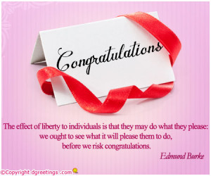 Congratulations Quotes, Famous Quotes on Congratulations