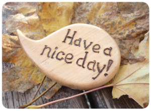 Cute art of Have a nice day wallpaper in HD