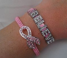 ... , Pink Ribbons, Ribbon Charm, Breast Cancer Jewelry, Faith Quotes
