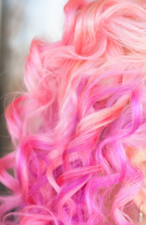 cute, hair, hair pink, love, pink, pretty, quote, quotes