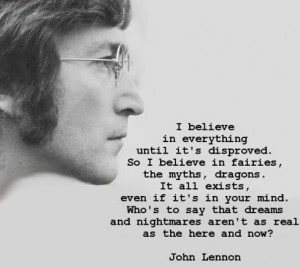 This might be my favorite Lennon quote ever.