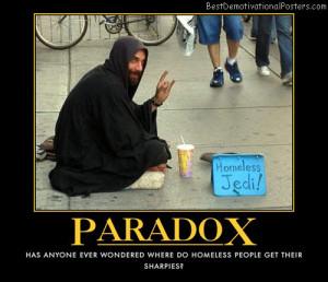 Paradox Homeless Jedi Best...