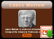 Lance Morrow