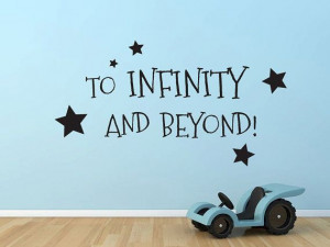 To Infinity and Beyond Buzz Lightyear Toy Story by GrabersGraphics,